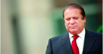 Nawaz Sharif Sentenced 10 years in Jail