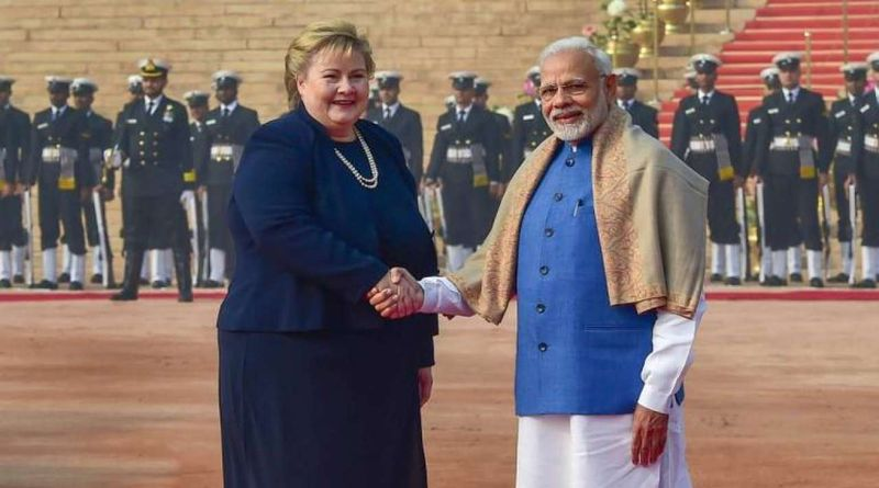 a736d8cbd55 Norway Prime Minister Erna Solberg was on a 2-day visit to India.