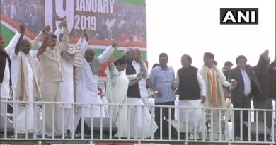 Opposition rally