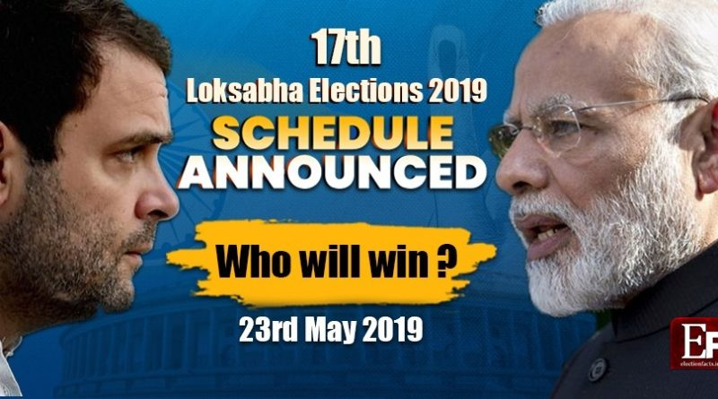 Lok Sabha 2019 election