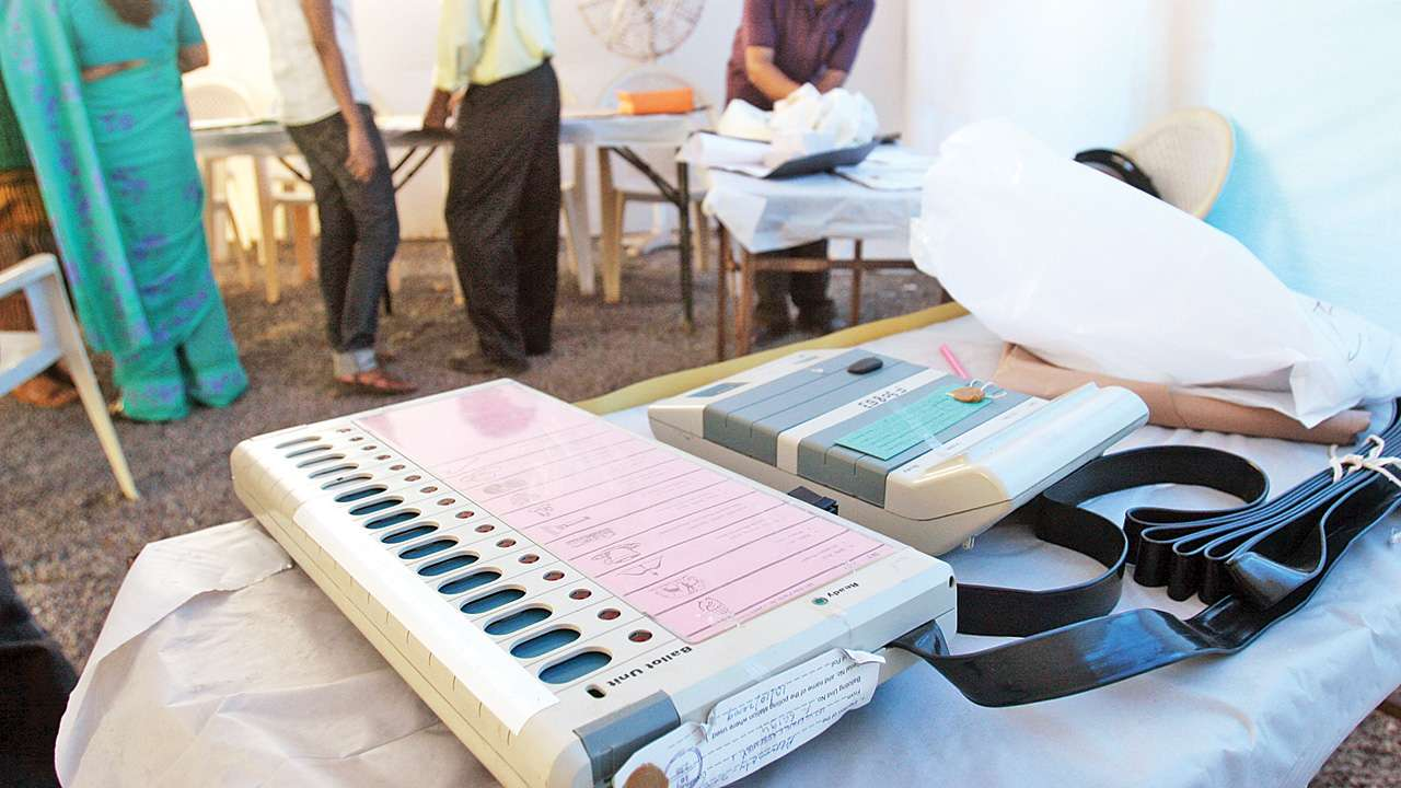 Political parties started questioning the electronic voting machines